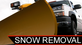 Snow Removal Truck - Fence Contractor
